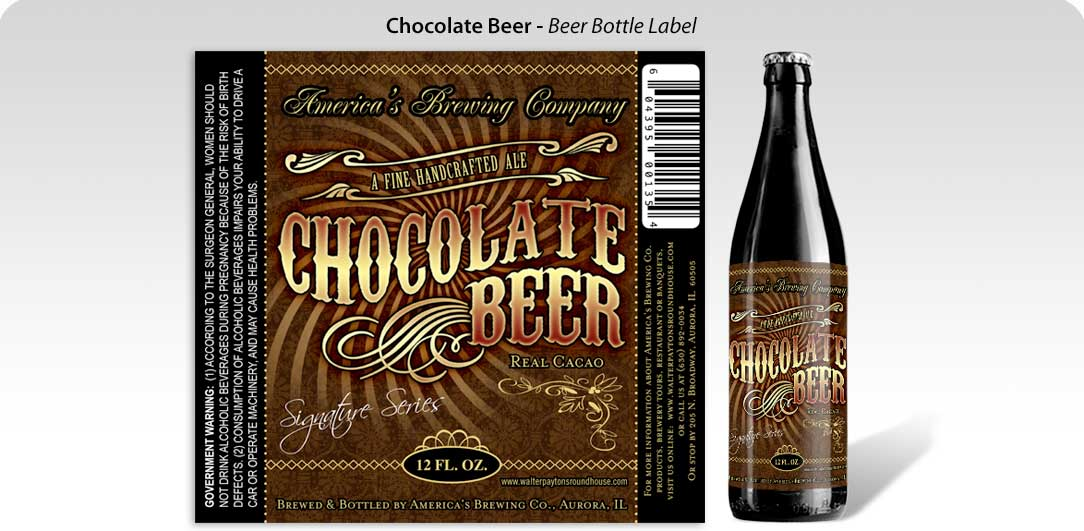 graphic design package label design chocolate beer fernando creative Pint of Best? The Best and Most Exciting ways to Bottle up your Beer