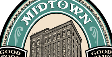 logo design: midtown pub and grill I