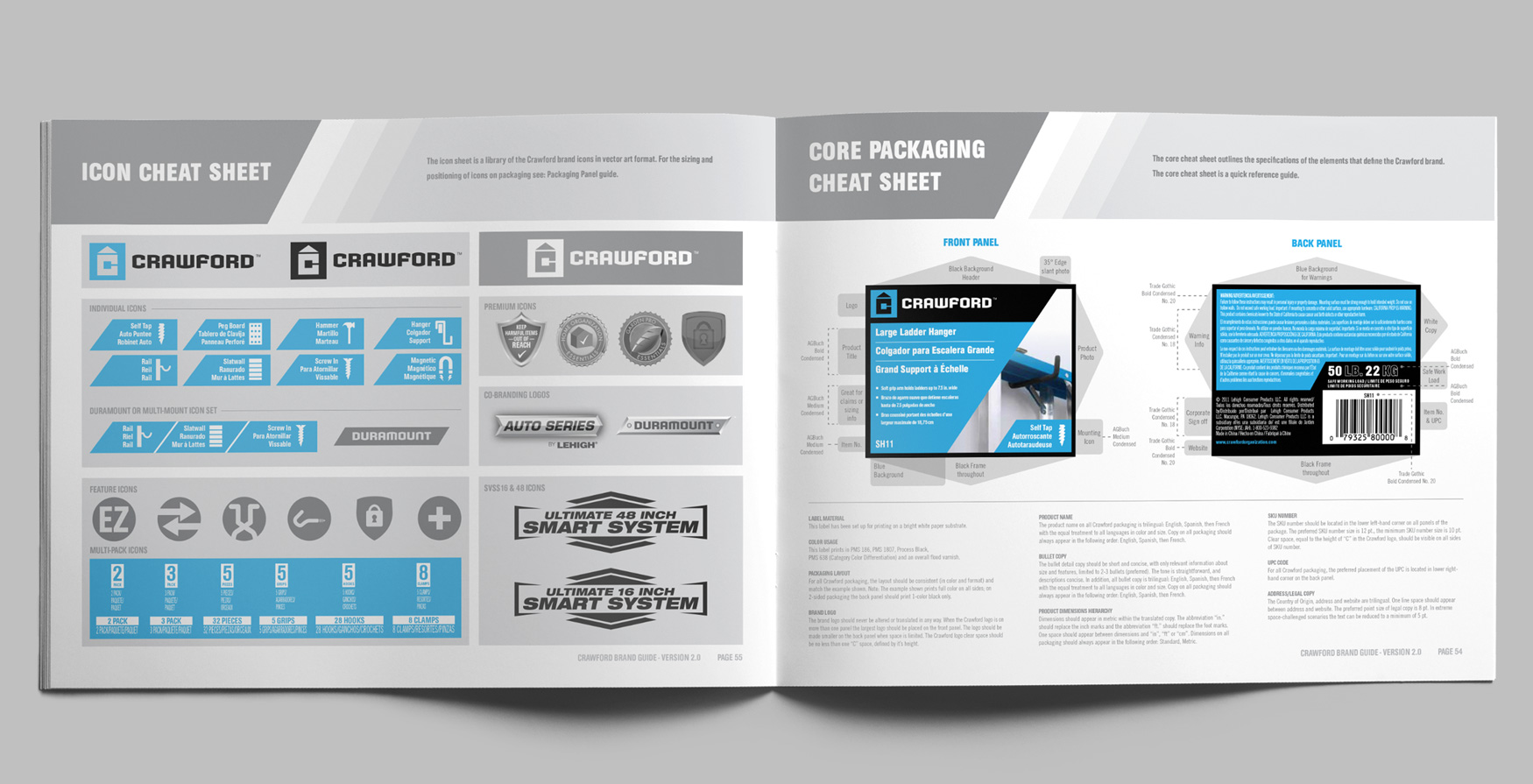 crawford-brand-guide-book-design-interior-page-layout-branding-clean-hardware-industrial-graphic-design-guidelines
